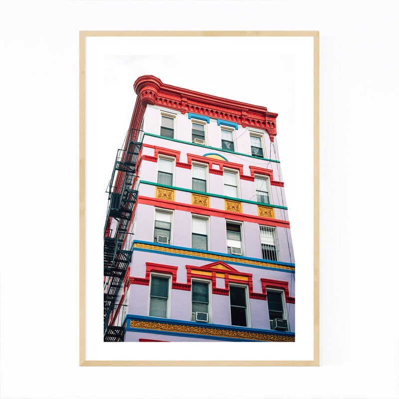 East Village New York City Urban Framed Art Print