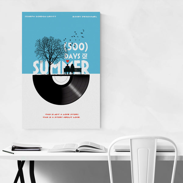 500 Days of Summer movie poster Art Print