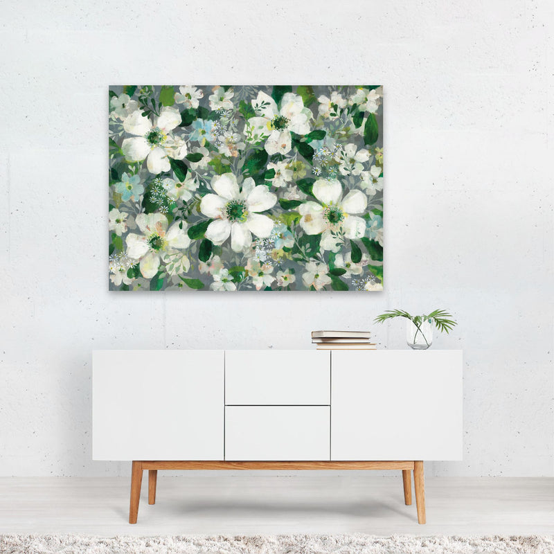 Floral Daisy Friends Anemone Art Print
