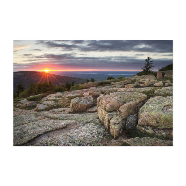 Acadia Maine Mountains Parks Hiking Art Print