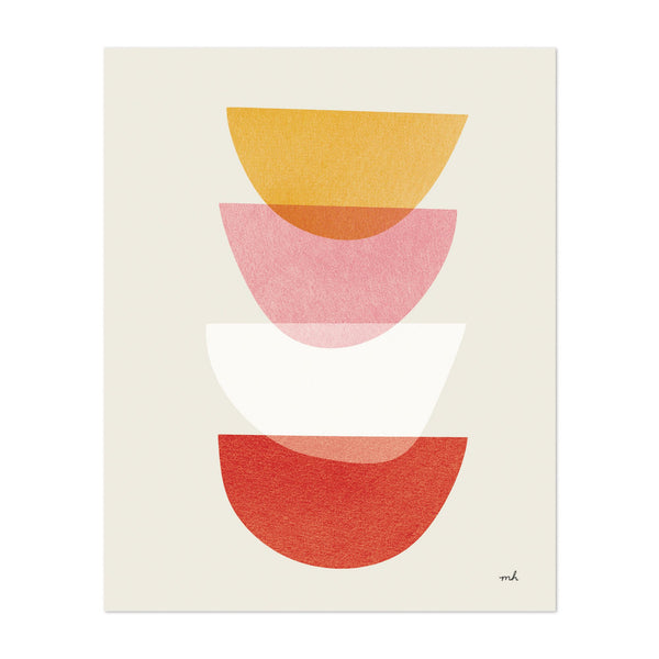 Minimal Kitchen Abstract Screen Print Art Print