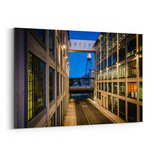 Winston-Salem, North Carolina Canvas Art Print