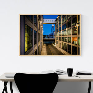 Winston-Salem, North Carolina Framed Art Print