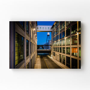 Winston-Salem, North Carolina Mounted Art Print