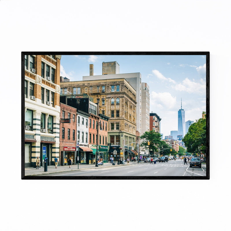 West Village New York City NYC Framed Art Print