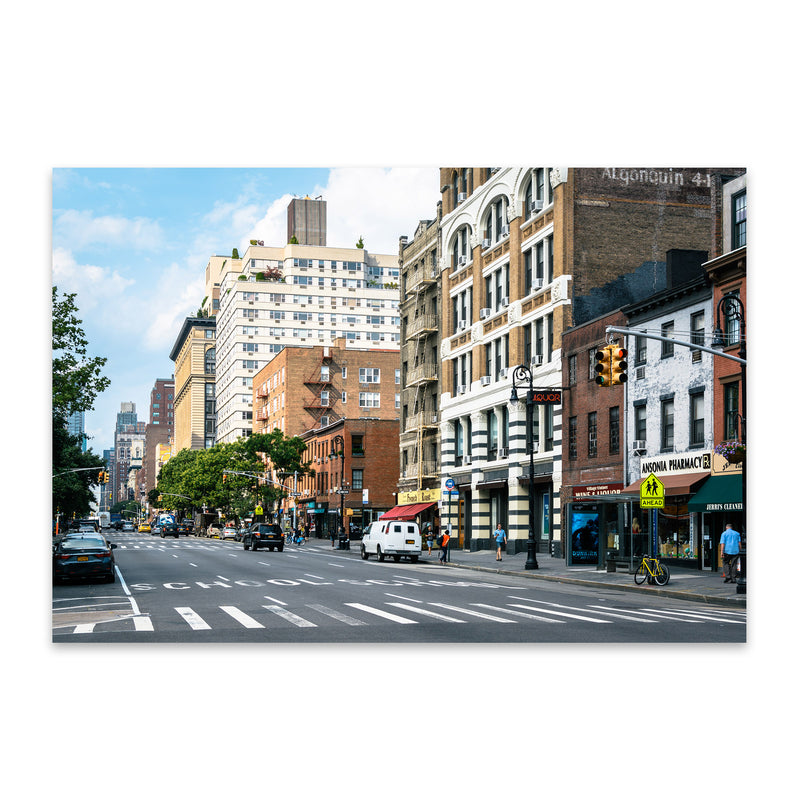 West Village New York City NYC Metal Art Print