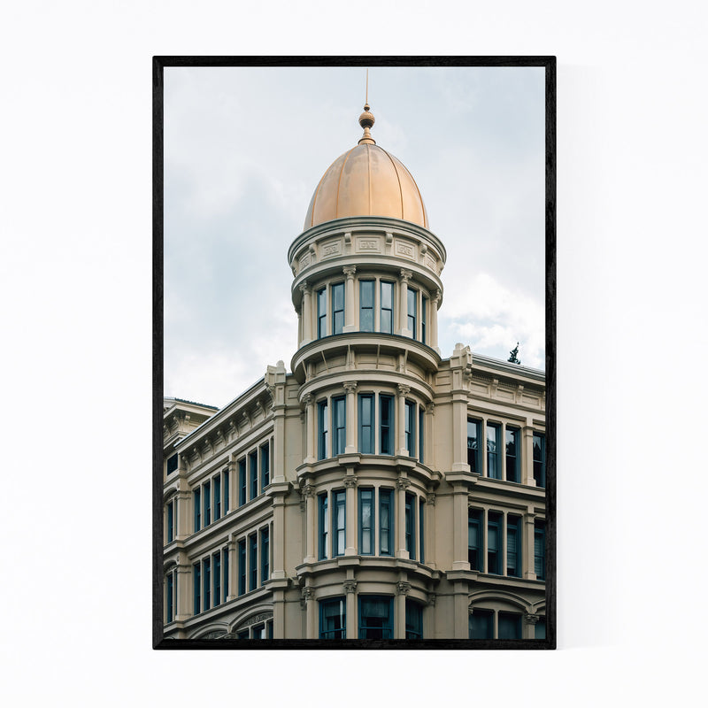 Manhattan New York Architecture Framed Art Print