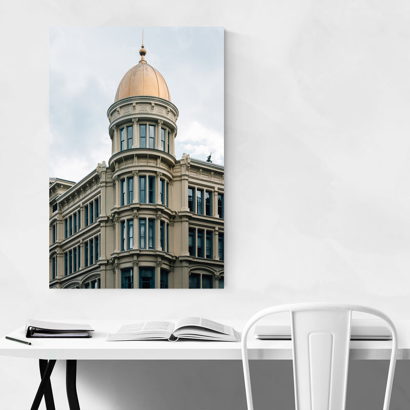 Manhattan New York Architecture Canvas Art Print