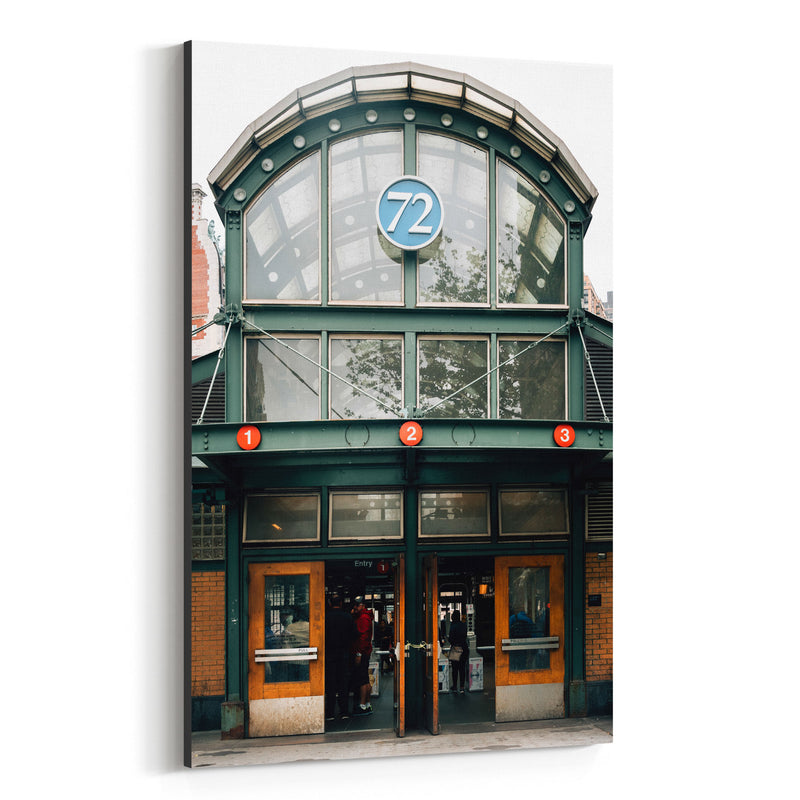 72nd & Broadway Subway New York Canvas Art Print