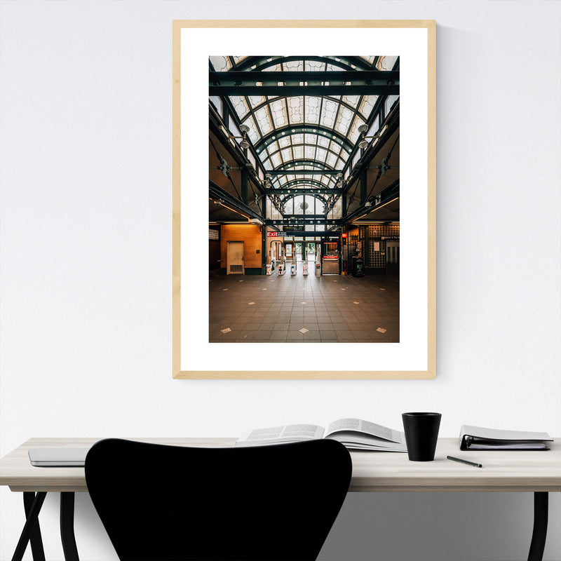 72nd & Broadway Subway New York Framed Art Print