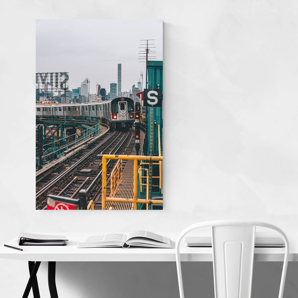 MTA Subway Queens New York NYC Art Print