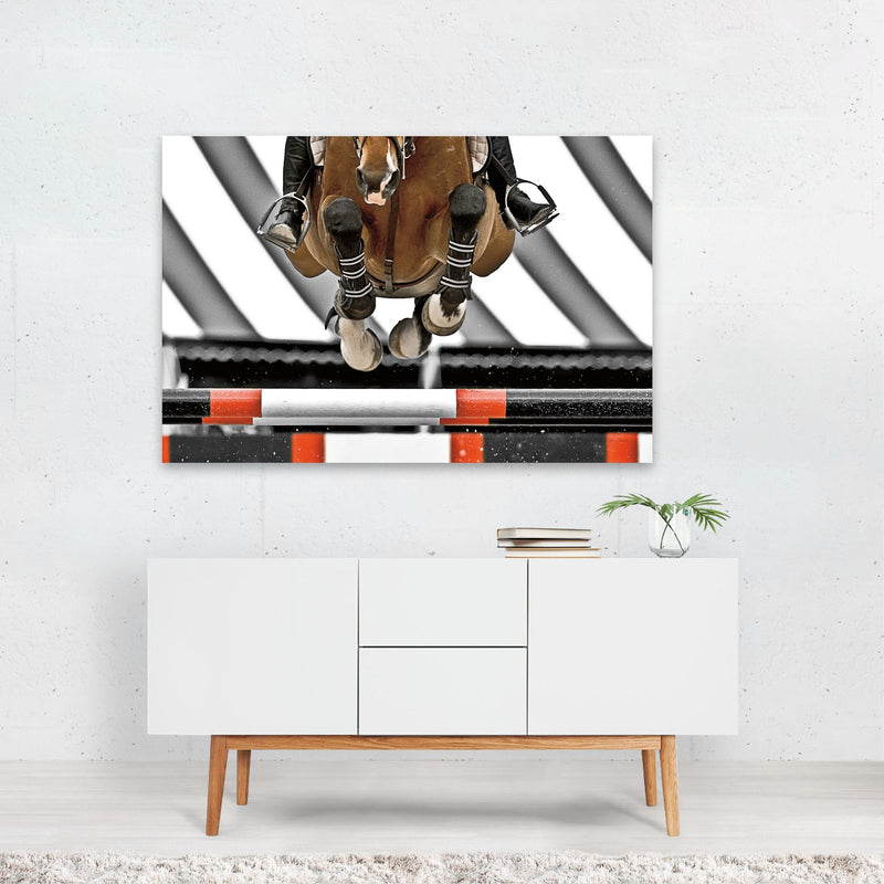 Sports Animals Horse Photo Art Print