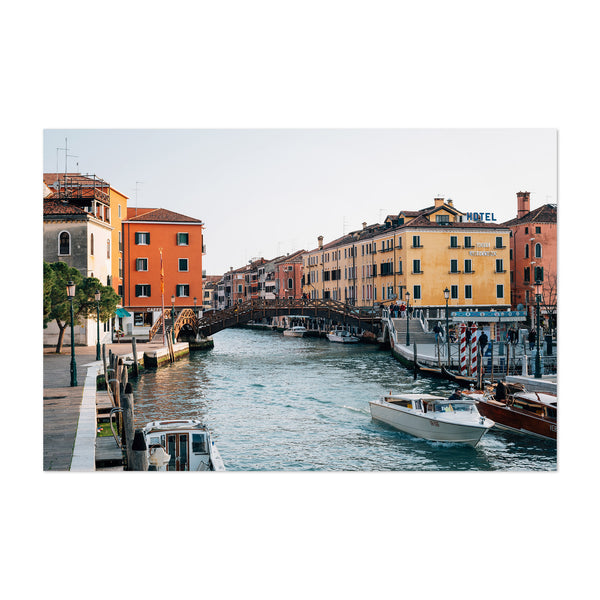 Venice Italy Canal Photography Art Print