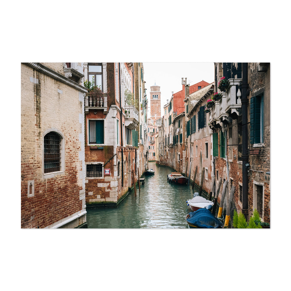 A Canal in Venice 02