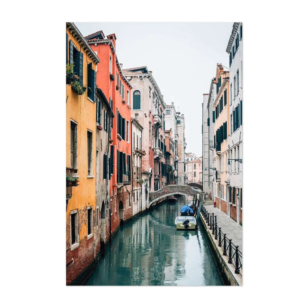 A Canal in Venice 03