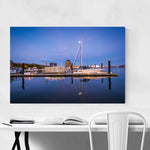 Canton Waterfront Baltimore Framed Art Print
