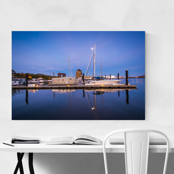Canton Waterfront Baltimore Art Print