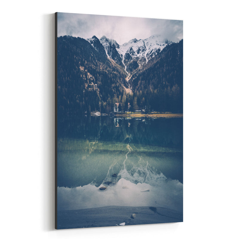 Italy Alps South Tyrol Mountains Canvas Art Print