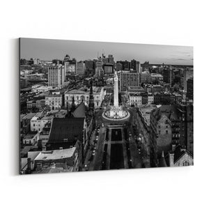 Washington Monument Baltimore Canvas Art Print