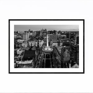 Washington Monument Baltimore Framed Art Print