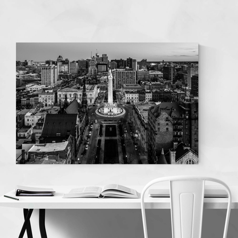 Washington Monument Baltimore Art Print