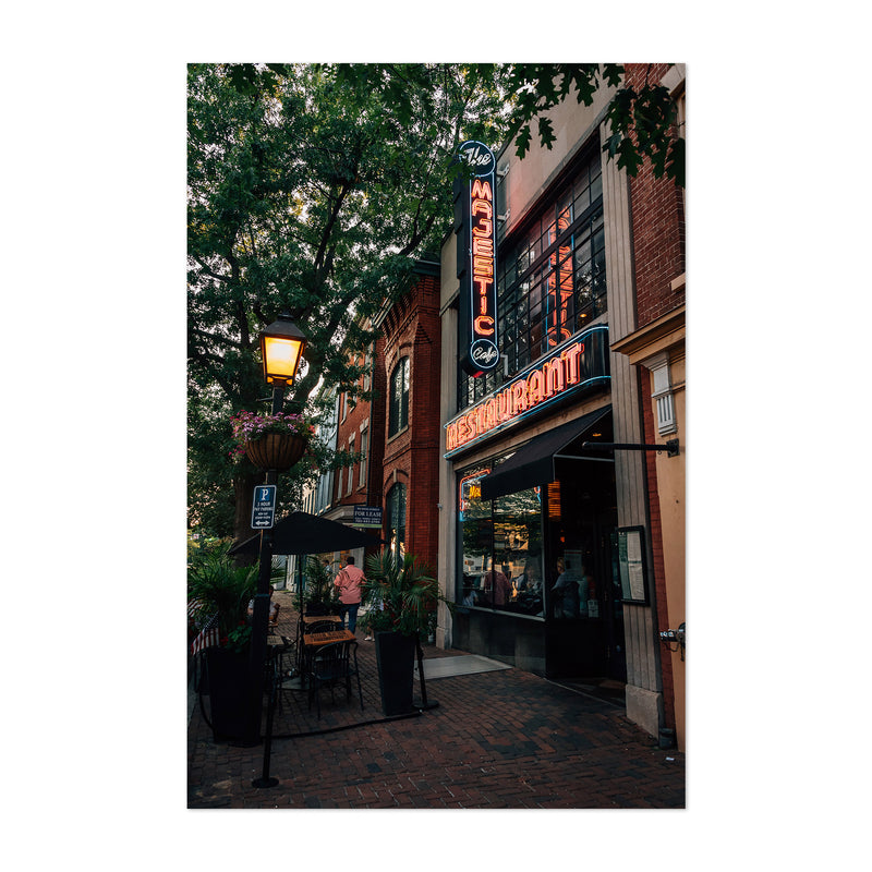 Alexandria Virginia King Street Art Print