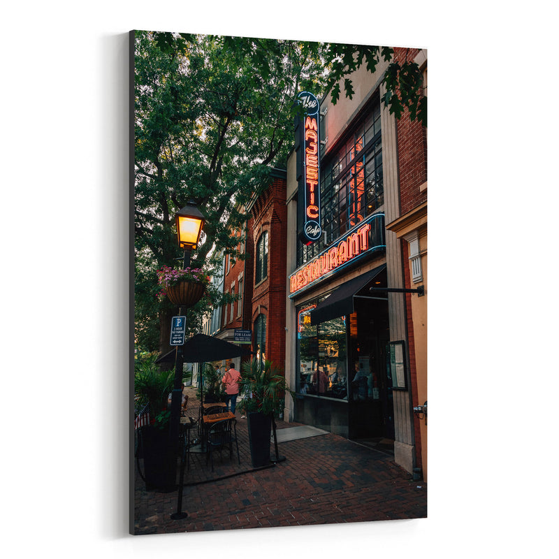 Alexandria Virginia King Street Canvas Art Print