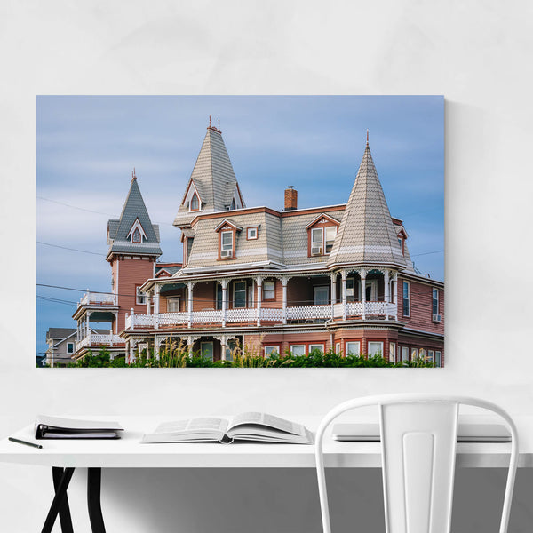 Cape May NJ Victorian Mansion Art Print