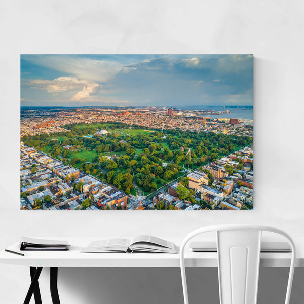 Patterson Park Baltimore View Art Print