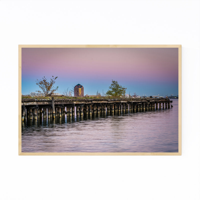 Fells Point Baltimore Maryland Framed Art Print