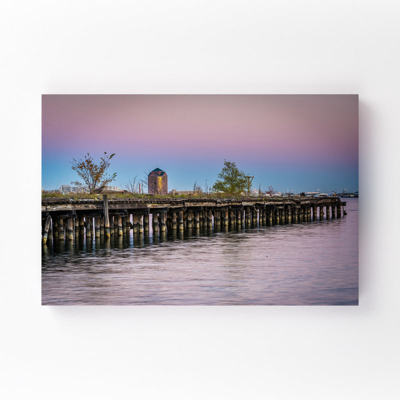Fells Point Baltimore Maryland Mounted Art Print
