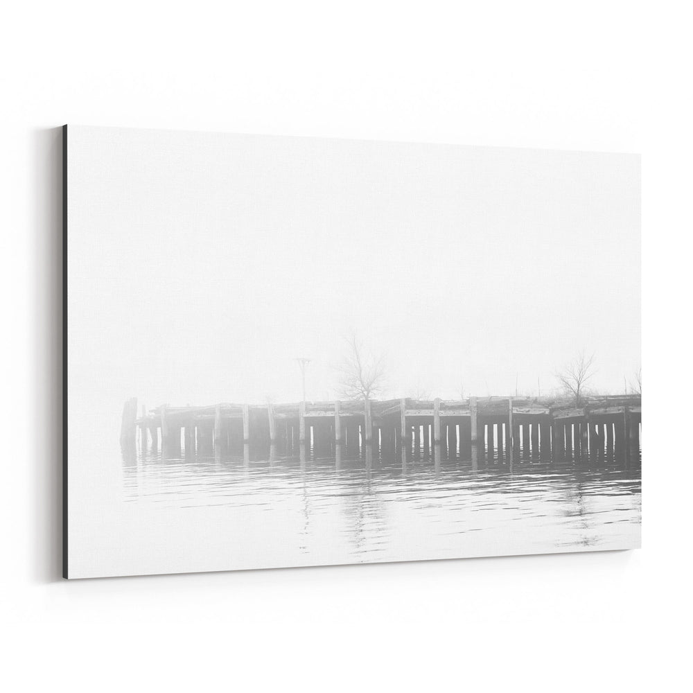 Fells Point Baltimore Pier Canvas Art Print