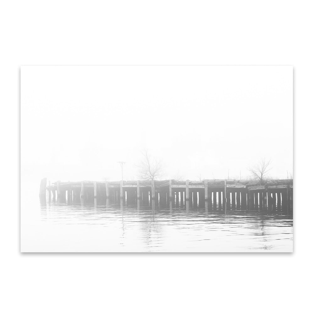 Fells Point Baltimore Pier Metal Art Print