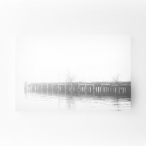 Fells Point Baltimore Pier Mounted Art Print