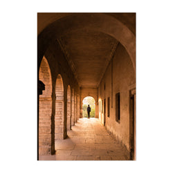 Abandoned Arches Architecture Art Print
