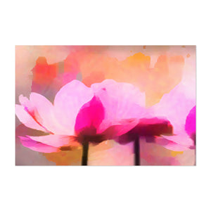 Floral Watercolor Anemone Flower Art Print