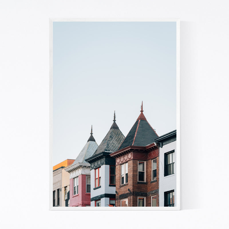 Adams Morgan Washington DC Framed Art Print