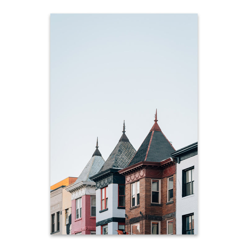 Adams Morgan Washington DC Metal Art Print