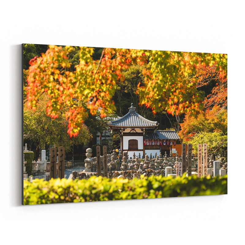 Kyoto Japan Buddhist Temple Canvas Art Print
