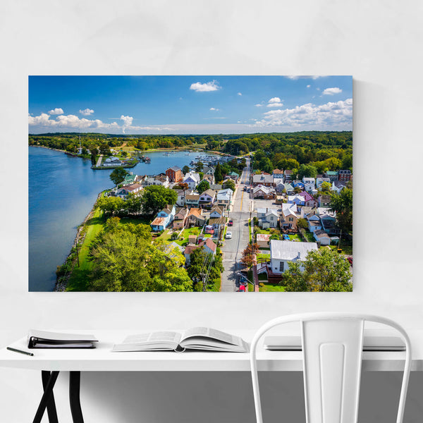 Chesapeake City Maryland Coastal Art Print