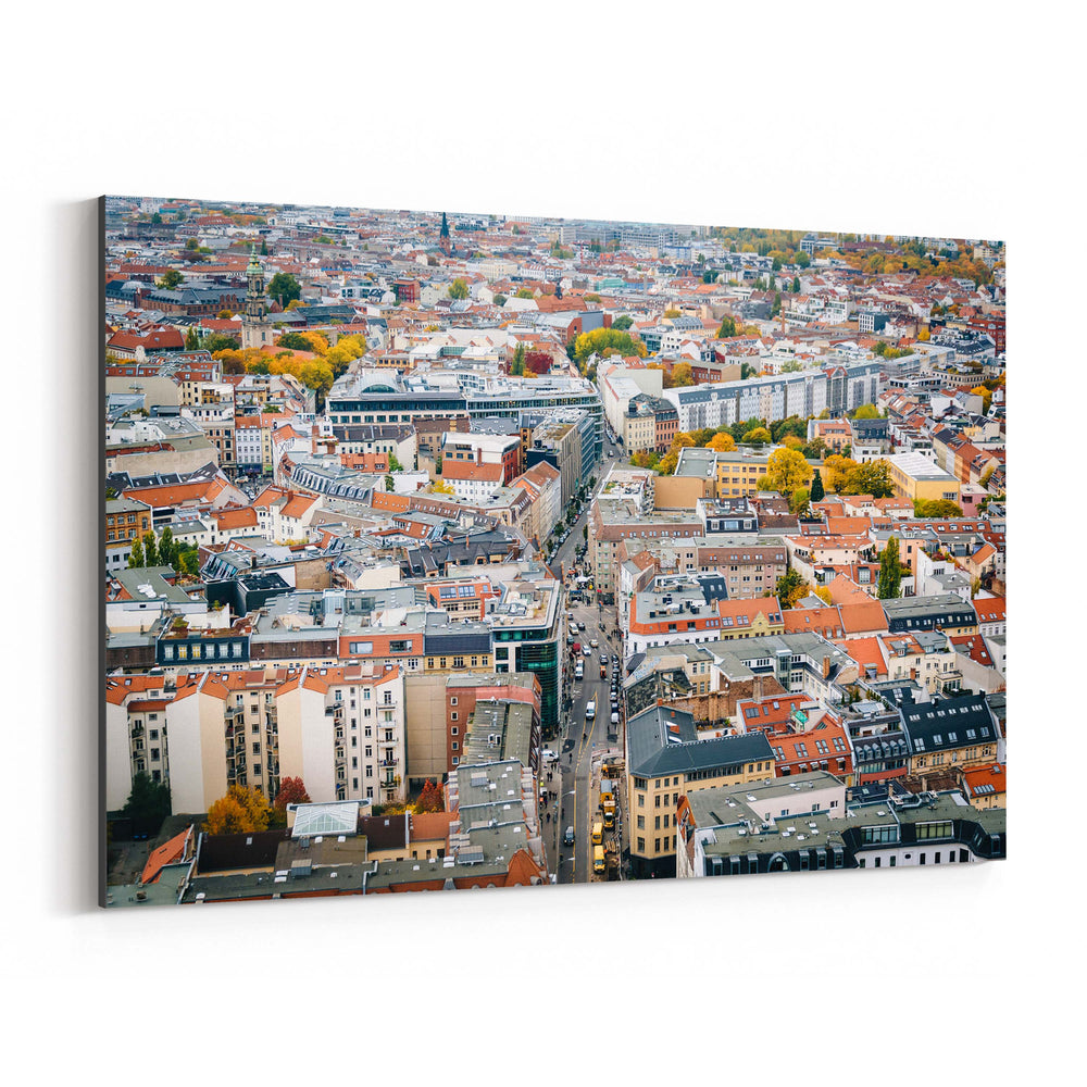 Berlin Germany Europe Cityscape Canvas Art Print