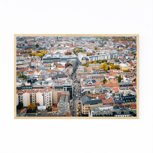 Berlin Germany Europe Cityscape Framed Art Print