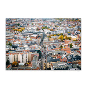 Berlin Germany Europe Cityscape Metal Art Print