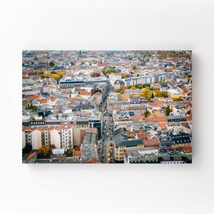 Berlin Germany Europe Cityscape Mounted Art Print