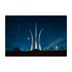 Air Force Memorial Arlington DC Art Print