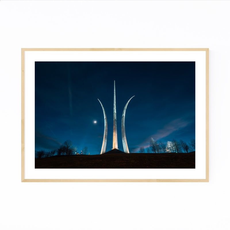 Air Force Memorial Arlington DC Framed Art Print