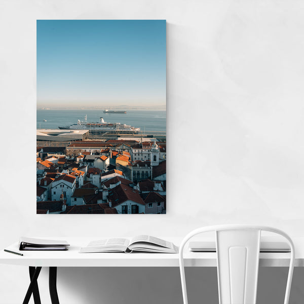 Alfama Lisbon Portugal View Art Print