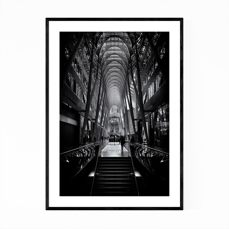 Toronto Urban Architecture Photo Framed Art Print