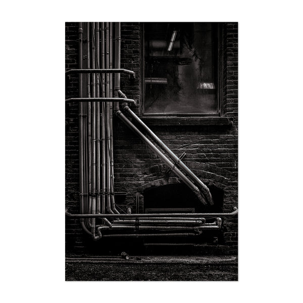 Toronto Urban Industrial Photo Art Print
