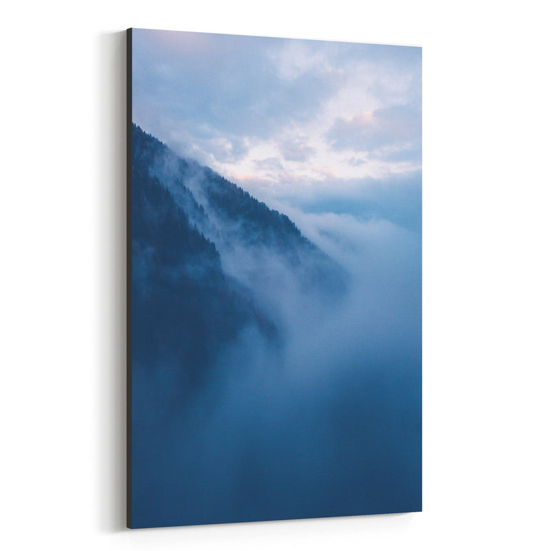 Lake Nambino Alps Mountain Italy Canvas Art Print